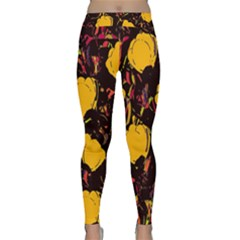 Yellow Roses  Classic Yoga Leggings