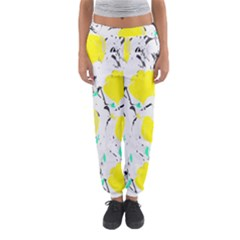 Yellow Roses 2 Women s Jogger Sweatpants by Valentinaart