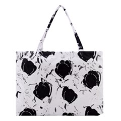 Black Roses Medium Tote Bag by Valentinaart