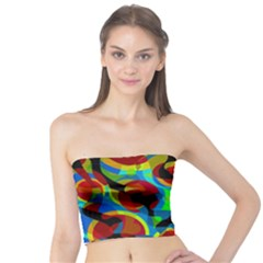 Colorful Smoothie  Tube Top by Valentinaart