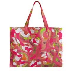 Pink Smoothie  Zipper Mini Tote Bag by Valentinaart
