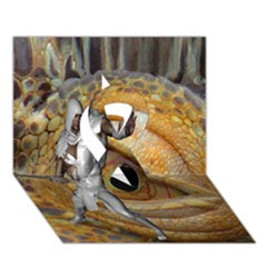 Dragon Slayer Ribbon 3d Greeting Card (7x5) by icarusismartdesigns