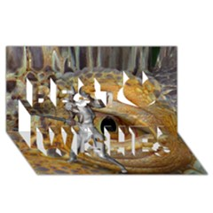 Dragon Slayer Best Wish 3d Greeting Card (8x4) by icarusismartdesigns