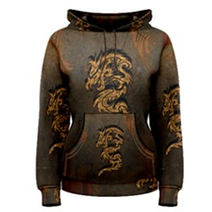 Awesome Dragon, Tribal Design Women s Pullover Hoodie