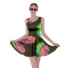 Colorful Leafs Skater Dress by Valentinaart