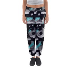 Blue Shadows  Women s Jogger Sweatpants by Valentinaart
