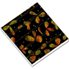 Floral Abstraction Small Memo Pads by Valentinaart