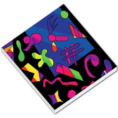 Colorful Shapes Small Memo Pads by Valentinaart