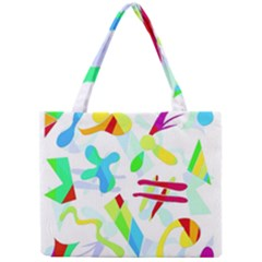 Playful Shapes Mini Tote Bag