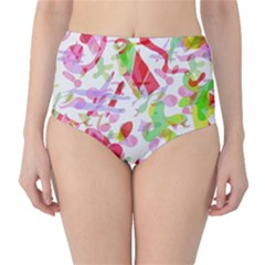 Summer High Waist Bikini Bottoms