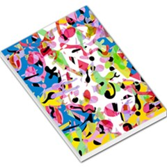 Colorful Pother Large Memo Pads by Valentinaart