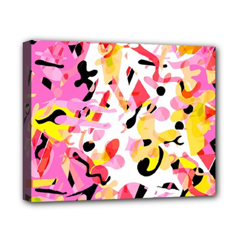 Pink Pother Canvas 10  X 8  by Valentinaart