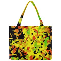 Fire Mini Tote Bag by Valentinaart