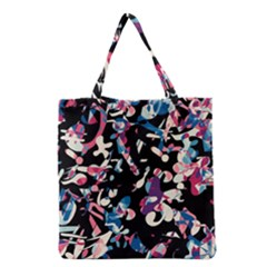 Creative Chaos Grocery Tote Bag by Valentinaart