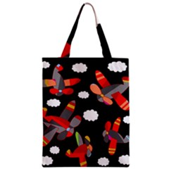 Playful Airplanes  Zipper Classic Tote Bag