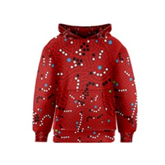 Red Fantasy Kids  Pullover Hoodie by Valentinaart