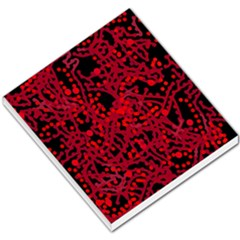 Red Emotion Small Memo Pads by Valentinaart