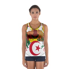National Seal Of Algeria Women s Sport Tank Top  by abbeyz71