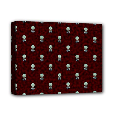 Bloody Cute Zombie Deluxe Canvas 14  X 11  by AnjaniArt