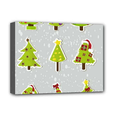 Christmas Elements Stickers Deluxe Canvas 16  X 12