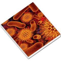 Chemical Biology Bacteria Bacterium Small Memo Pads by AnjaniArt