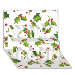 Images Paper Christmas On Pinterest Stuff And Snowflakes You Rock 3d Greeting Card (7x5) by AnjaniArt