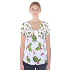 Images Paper Christmas On Pinterest Stuff And Snowflakes Short Sleeve Front Detail Top