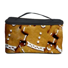 Gingerbread Men Cosmetic Storage Case by AnjaniArt