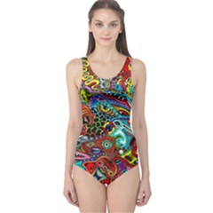 Moster Mask One Piece Swimsuit