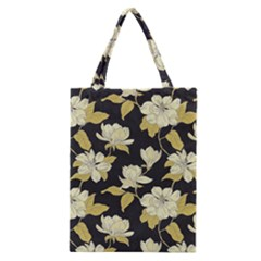 Pattern Rose Classic Tote Bag by AnjaniArt