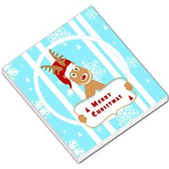 Santa Claus Reindeer Christmas Small Memo Pads by AnjaniArt
