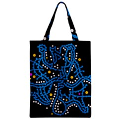 Blue Fantasy Classic Tote Bag by Valentinaart