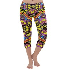Spirit Time5588 52 Pngyg Capri Yoga Leggings
