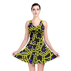 Yellow Fantasy Reversible Skater Dress