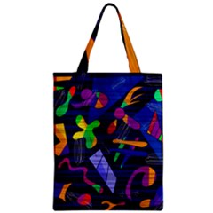 Colorful Dream Zipper Classic Tote Bag by Valentinaart