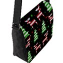 Reindeer decorative pattern Flap Messenger Bag (L)  View2