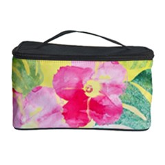 Tropical Dream Hibiscus Pattern Cosmetic Storage Case by DanaeStudio