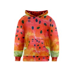 Abstract Watermelon Kids  Pullover Hoodie