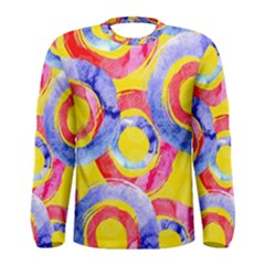 Blue And Pink Dream Men s Long Sleeve Tee