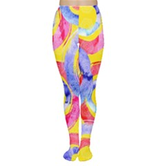 Blue And Pink Dream Women s Tights by DanaeStudio