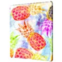 Colorful Pineapples Over A Blue Background Apple iPad Pro 12.9   Hardshell Case View3
