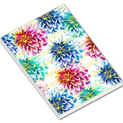 Colorful Dahlias Large Memo Pads by DanaeStudio