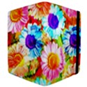 Colorful Daisy Garden Apple iPad Mini Flip Case View4