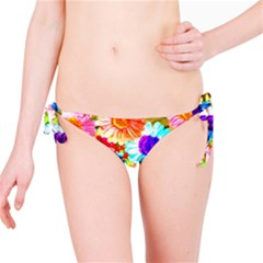 Colorful Daisy Garden Bikini Bottom by DanaeStudio