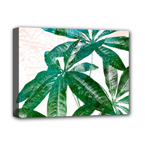 Pachira Leaves  Deluxe Canvas 16  X 12