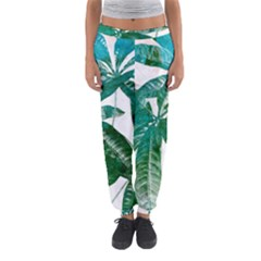 Pachira Leaves  Women s Jogger Sweatpants