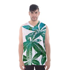 Pachira Leaves  Men s Basketball Tank Top by DanaeStudio