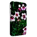 Pink Flowers Over A Green Grass Samsung Galaxy Tab 3 (7 ) P3200 Hardshell Case  View2