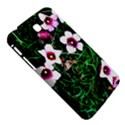 Pink Flowers Over A Green Grass Samsung Galaxy Tab 3 (7 ) P3200 Hardshell Case  View5