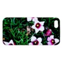 Pink Flowers Over A Green Grass iPhone 5S/ SE Premium Hardshell Case View1